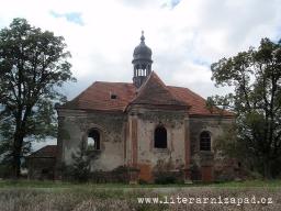 kostel sv. Barbory, Všekary