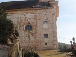 kostel sv. Barbory, Manětín